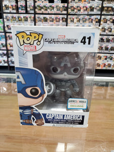 FUNKO POP! CAPTAIN AMERICA THE WINTER SOLDIER. CAPTAIN AMERICA