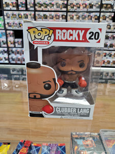 FUNKO POP! ROCKY, CLUBBED LANG