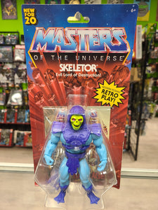 Mattel Masters of The Universe Retro Play Skeletor