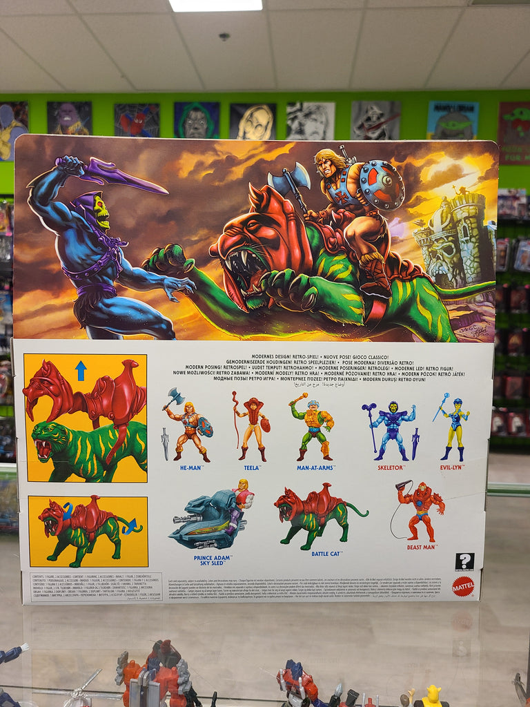 Mattel Masters of The Universe Retro Play Battle cat
