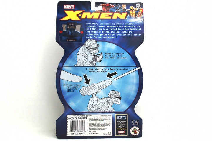 Marvel X-Men Tech Gear Beast