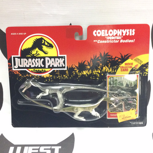 KENNER Jurassic Park Coelophysis/Sprinters with Constrictor Bodies (1993)
