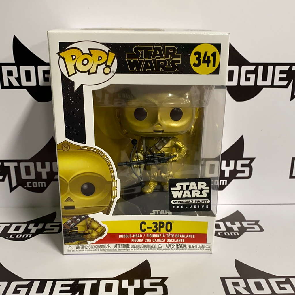 Funko Pop! Star Wars C-3PO Exclusive Smugglers Bounty 341