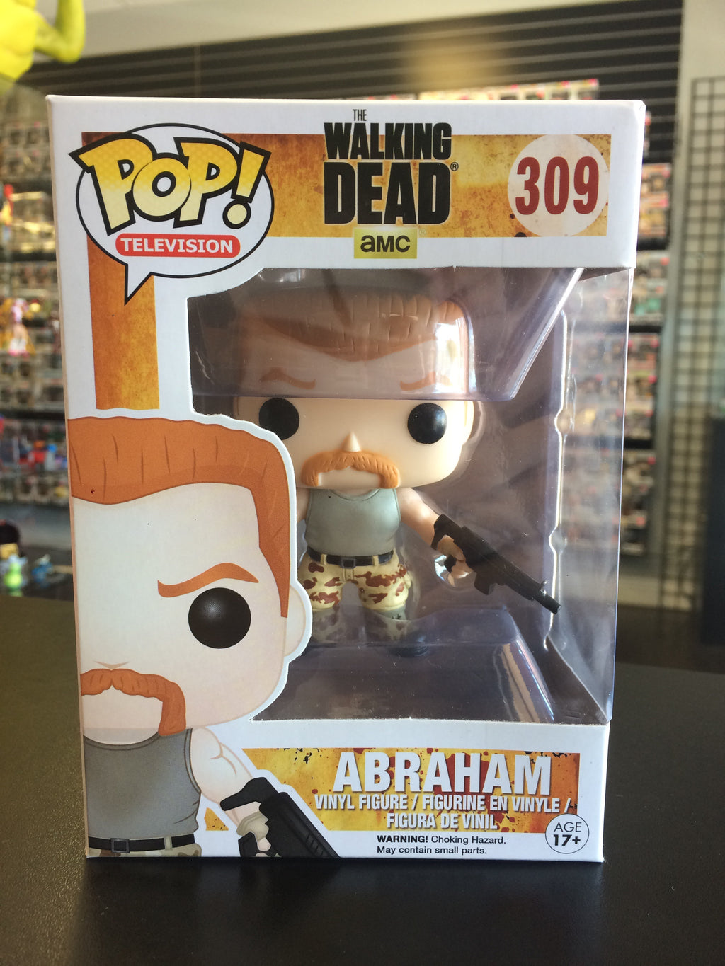 9a166ab339 Funko Pop! Television The Walking Dead Abraham #309