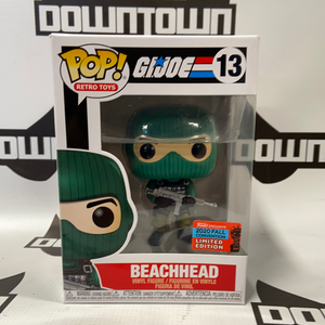 Funko Pop! Retro Toys G.I. Joe Beachhead #13 (2020 Fall Convention Limited Edition)