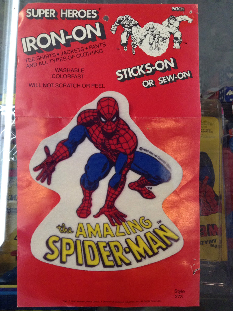 Vintage Spiderman Iron on Patch