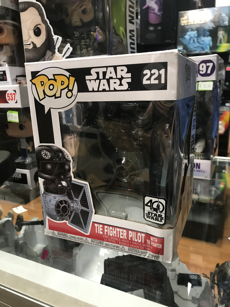 Funko Pop! Tie Fighter Pilot with Tie Fighter 221