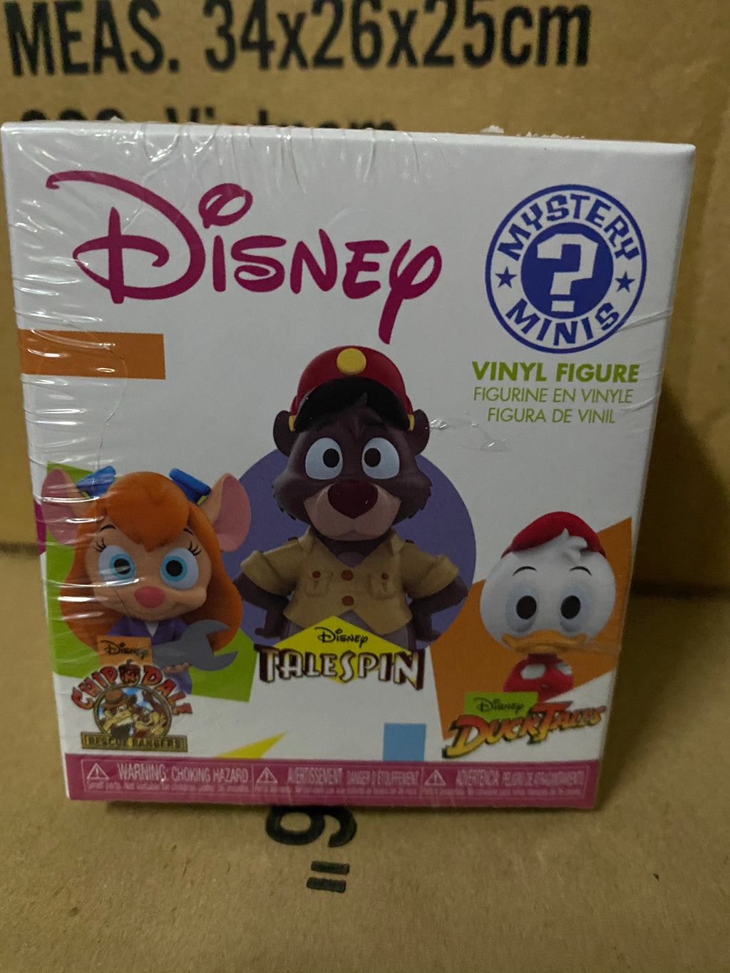 Funko Disney Afternoons Chip and Dales Rescue Rangers Talespin and  Ducktales Mystery Minis Vinyl Figure