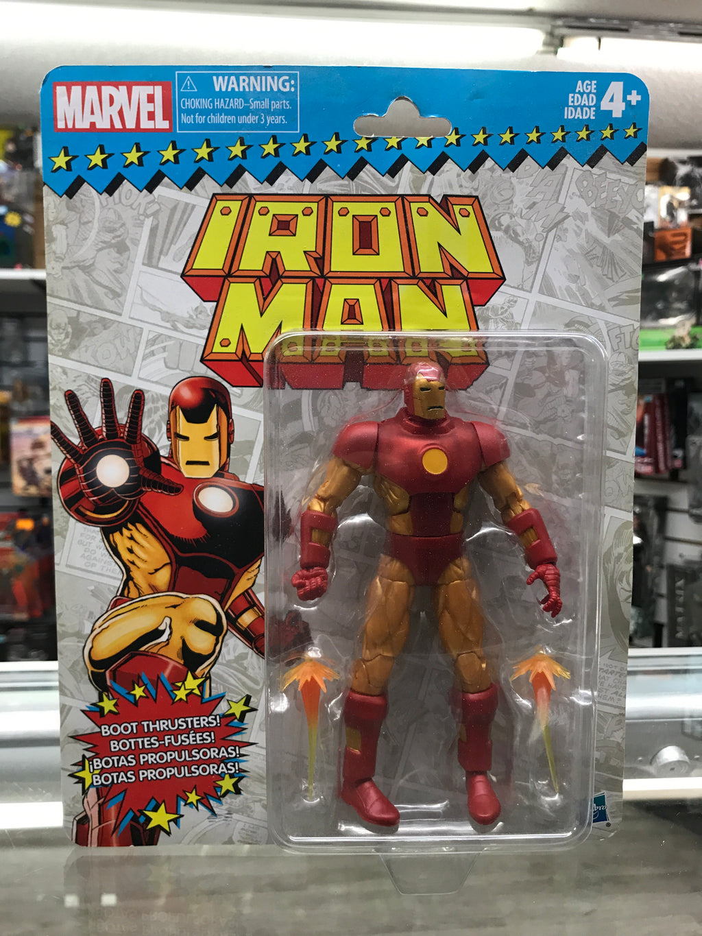 Marvel Legends Retro Collection Iron Man