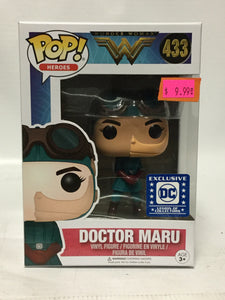 Funko Pop Heroes! Wonder Woman Doctor Maru DC Legion Of Collectors Exclusive