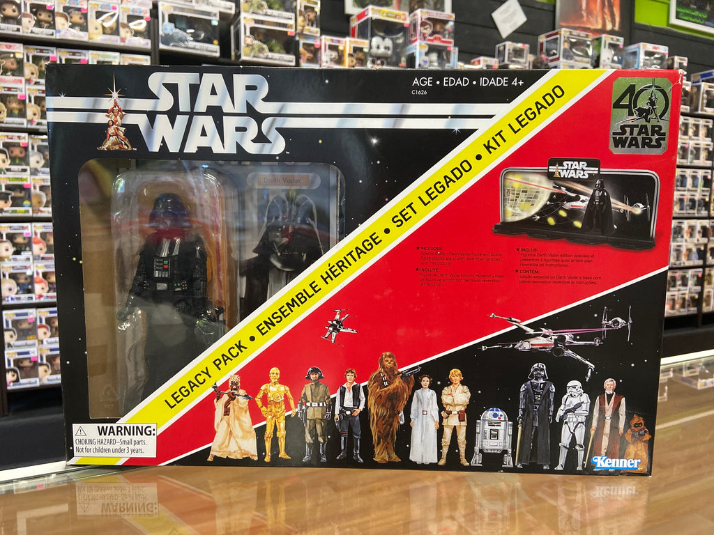 "Hasbro Star Wars Legacy Pack with 6"" Darth Vader"