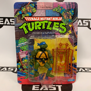Playmates Teenage Mutant Ninja Turtles Leonardo 10-Back (Hard Head)