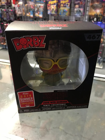 Dorbz 2018 SDCC Summer Exclusive Stranger Things Steve with Bandana Funko