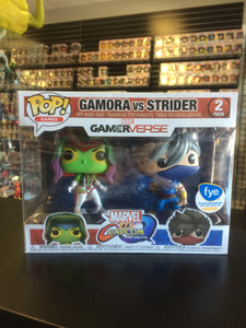 Funko Pop! Games Marvel vs. Capcom Infinite Gamora vs Strider (f.y.e. exclusive)