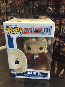 Funko Pop Marvel captain America civil war agent 14