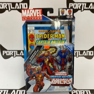 Hasbro Marvel Universe Comic Packs Greatest Battle Spider-Man &