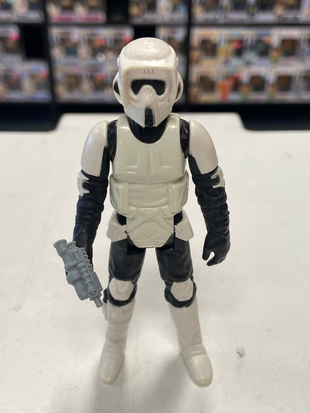 Kenner Star Wars Return of the Jedi vintage Biker Scout (long mask, 1983)