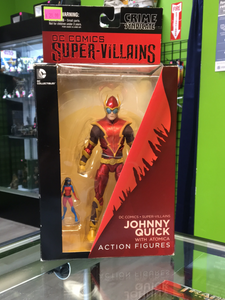 DC Collectibles Gentle Giant Studios, Super Villains Johnny Quick with Atomic