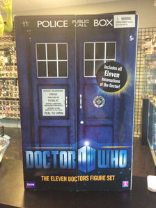Character Options Doctor Who The Eleven Doctors Figure Set
