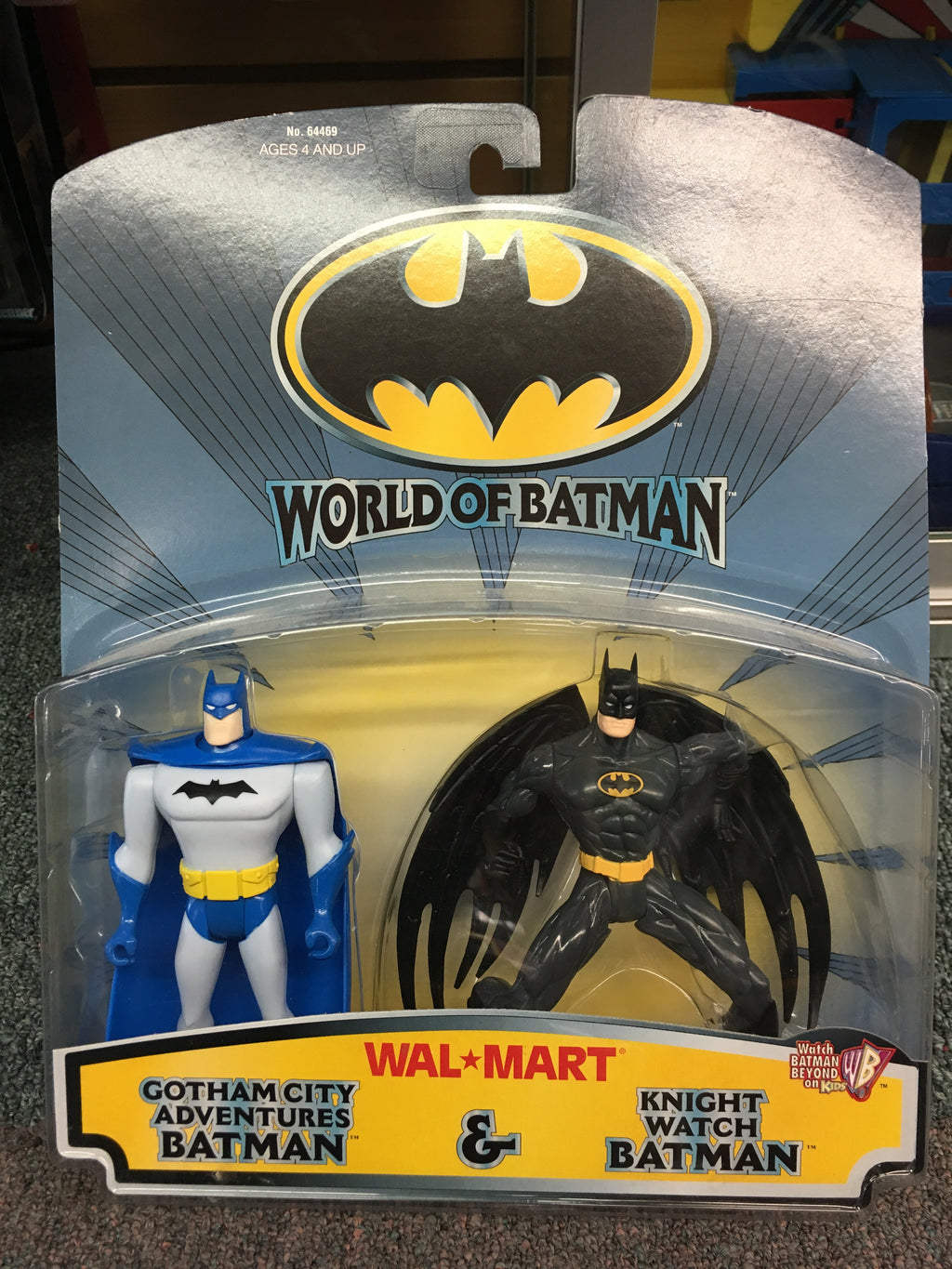 World of Batman- Gotham City Adventures & Knight Watch Batman
