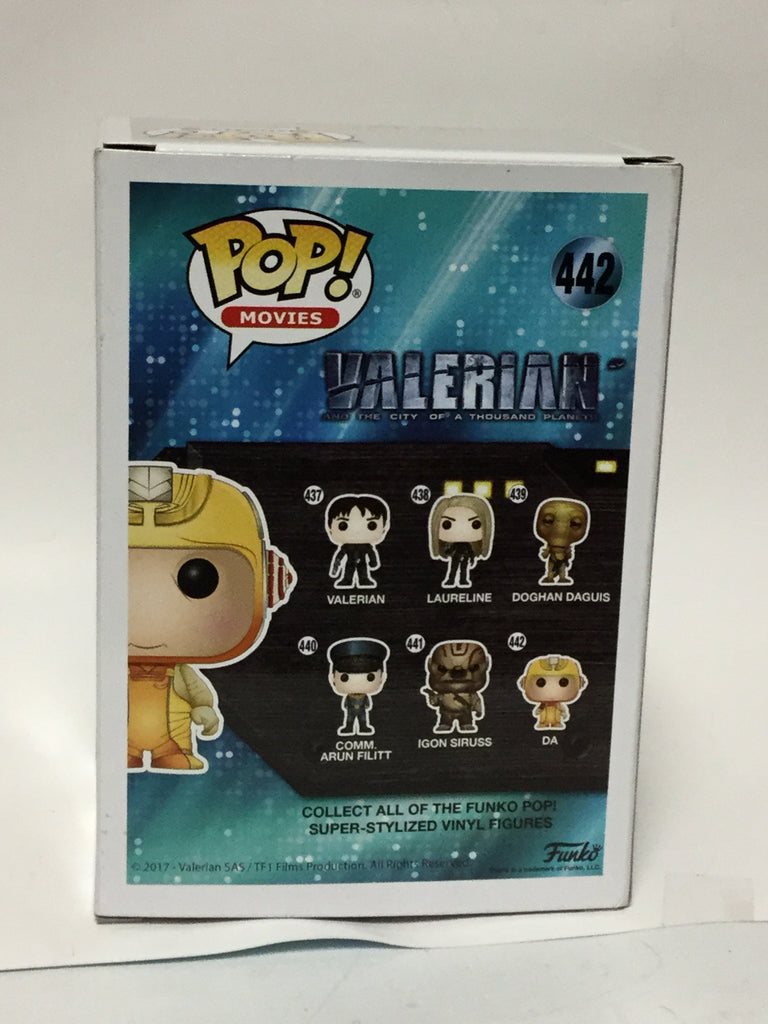 Funko Pop Movies! Valerian And The City Of A Thousand Planets DA