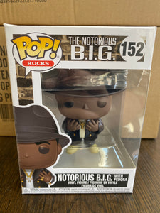 Funko POP! Rocks The Notorious B.I.G. With Fedora 152