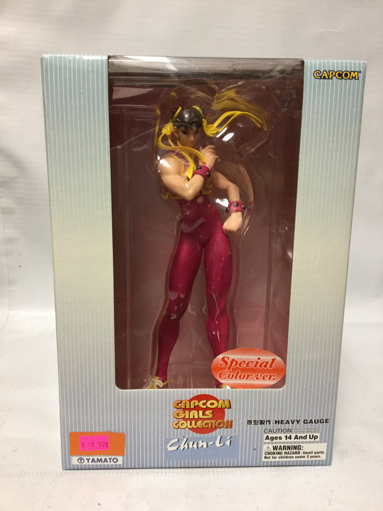 Yamato Capcom Girls Collection Chun-Li Special Color Version