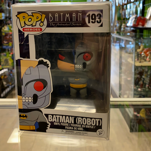 Funko POP! Batman The Animated Series Batman (Robot) 193