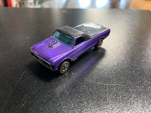 Mattel Hot Wheels Vintage 1967 Custom Fleetside