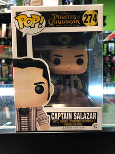 Funko Pop! Disney Pirates Of The Caribbean Dead Men Tell No Tales Captain Salazar 274