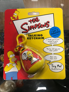 The Simpsons Talking Keychain Homer