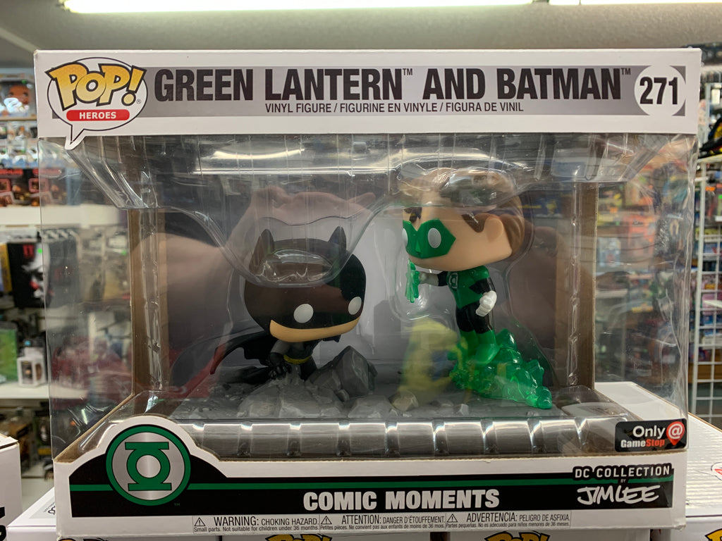 Funko POP! Heroes DC Collection Green Lantern and Batman #271 Exclusive