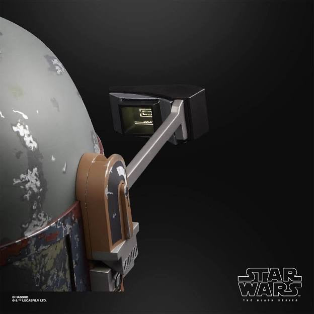 Star Wars Black Series Elite Boba Fett Helmet Hasbro
