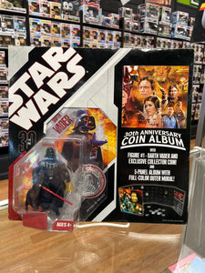 Hasbro Star Wars 30th Anniversary Coin Album with Darth Vader