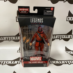 Hasbro Marvel Legends Spider-Man Into the Spiderverse Stilt Man BAF The Hand Ninja (2 Per Customer/Day)