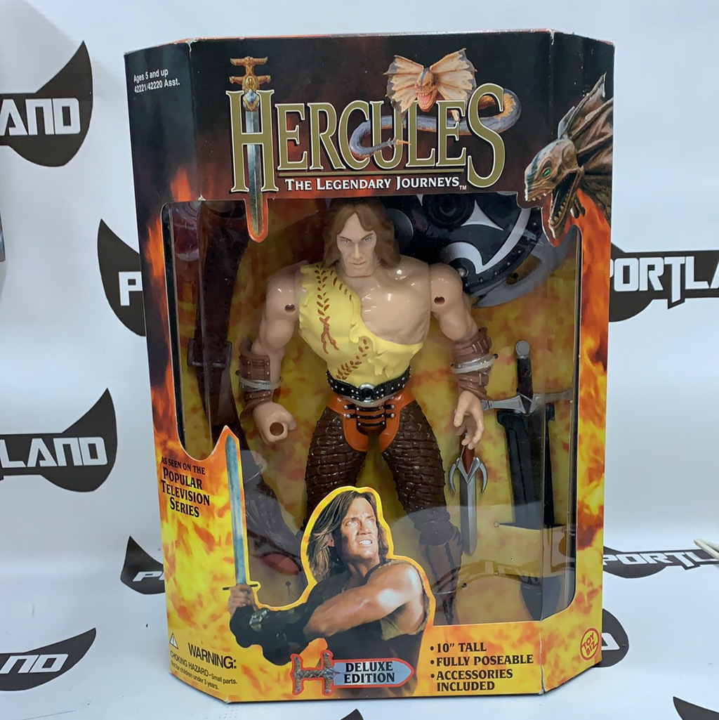 "Hercules The Legendary Journeys 10"" Deluxe Edition Hercules"