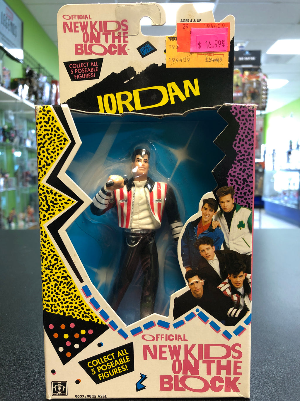 Hasbro New Kids On The Block JORDAN