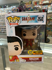 Funko POP! Heroes Shazam! Shazam #260 Hot Topic Exclusive