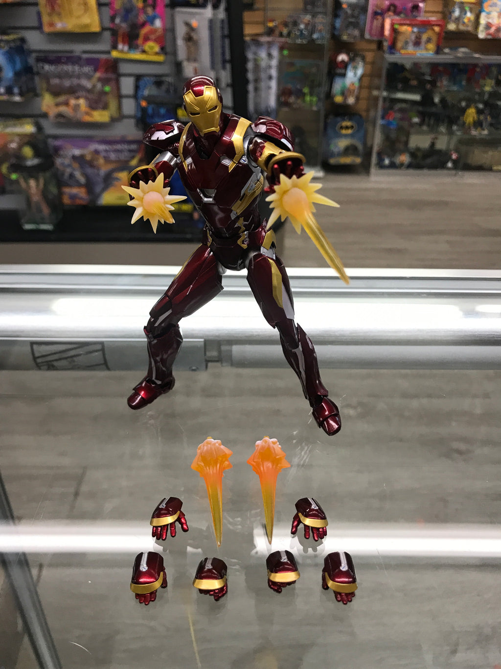 S.H.Figuarts Captain America Civil War Iron Man MK-46