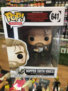 Funko POP! Television Stranger Things Hopper with Vines