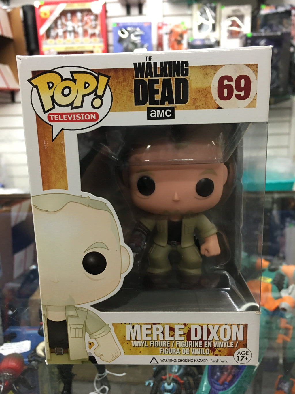 Funko POP! Television- The Walking Dead Merle Dixon #69