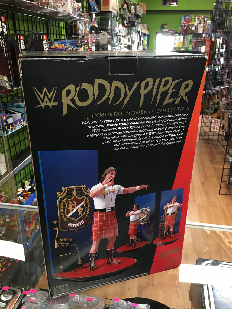 WWE Roddy Piper Immortal Moments Collection Statue