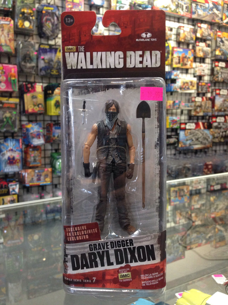 McFarlane The Walking Dead Series 7 Grave Digger Daryl Dixon Exclusive