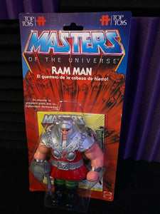 MATTEL MASTERS OF THE UNIVERSE (TOP TOYS)- RAM MAN