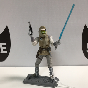 Hasbro Star Wars Saga collection Hoth Luke Skywalker