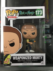 Funko POP! Animation- Rick and Morty Weaponized Morty #173