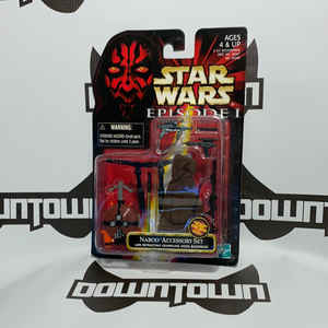 Hasbro Star Wars Episode 1 Naboo Accessory Set