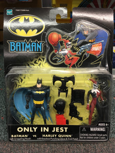 Batman Only in Jest - Batman vs Harley Quinn