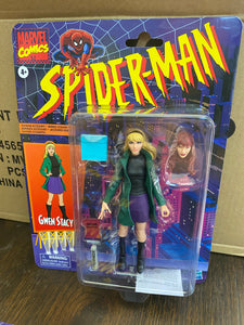 Hasbro Marvel Legends Spider-Man Retro Gwen Stacy