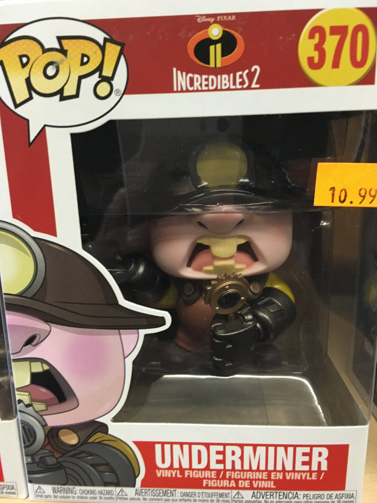 Funko POP! Disney Incredibles 2 Underminer